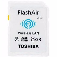 PROMO !! Toshiba Flash Air Wireless SD Card Class 10 8GB - SD-R008GR7A