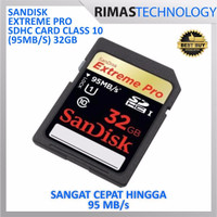 PROMO !! SanDisk Extreme Pro SDHC Card UHS-I Class 10 (95MB / S) 32GB -