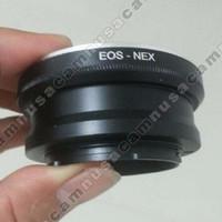 Adapter Lensa Canon EOS EF To, Ke, Untuk Kamera Sony Nex, E-Mount Mirr