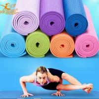 Jual Matras Yoga Premium Mat 6MM anti slip bonus sarung Murah