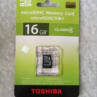 memori card toshiba 16 gb class 4
