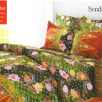 bed cover sprei batik