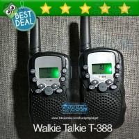 Mini Pairs Walkie Talkie with LED Light - T-388
