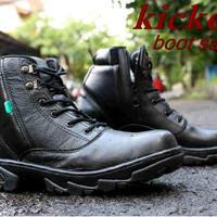 Sepatu Boots Hitam/Jim Joker/Kickers/Keren/Modis/Simple/Gaul SPTK29