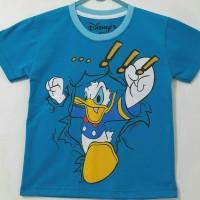 Kaos Anak Donald Biru size 7-10