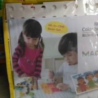 mainan edukatif edukasi color beans colour anak magic pola gambar