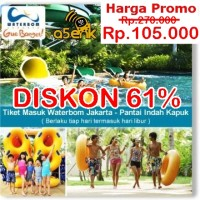 Promo Tiket WaterBoom PIK
