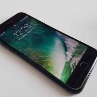 Ready Stock IPhone 128gb 7 Matte Black Garansi 2nd Mulus