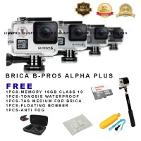 Brica b-pro5 alpha plus free tongsis+16 gb/brica bpro 5 plus/b-pro 5