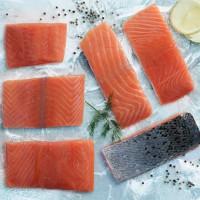 Salmon segar dari Norwegia
