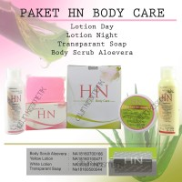 [BPOM] PAKET HANDBODY LOTION HN BPOM ORIGINAL / BODY CARE 4in1