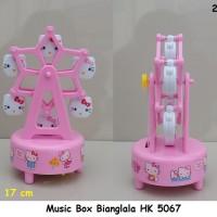 PAJANGAN HELLO KITTY MUSIC BINGLALA / MUSIC BOX BIANGLALA HK 5067