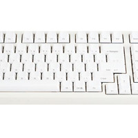 Mechanical Keyboard Leopold FC980M White PBT Keycaps (Brown Cherry MX)