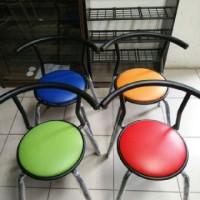 harga kursi cafe pujasera meja makan kantin kafe kursi besi foodcourt Tokopedia.com