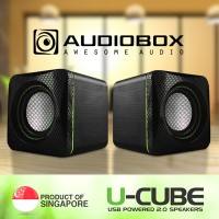 Jual SPEAKER AUDIO BOX U-CUBE MINI / MUSIC / COMPUTER Murah