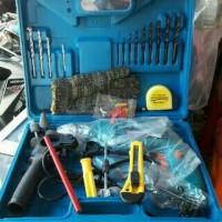 Harga Promo Drill Tools (1 Alat Bor Tembak + 19 Mata Bor & Perlengkapan