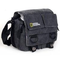 Tas Kamera Selempang DSLR National Geographic Canvas Bag
