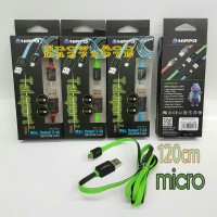 HIPPO KABEL TELEPORT2 MICRO USB 120CM FOR SAMSUNG,ANDROID, BLACKBERRY
