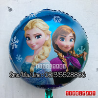 Balon Foil Frozen Anna Elsa / Balon Frozen / Balon Anna Elsa
