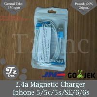 Jual 2.4A Magnetic Charger   Usb Cable Charger For Iphone Murah