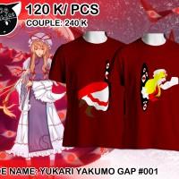 Kaos Couple Anime Yukari Yakumo Gap