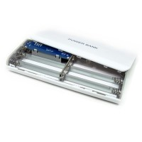 harga Charger Hp Dng Batrai Exchangeable Cell Power Bank Case For 5pcs 18650 Tokopedia.com
