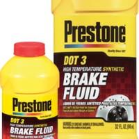Prestone Brake Fluid DOT 3 -HIGH TEMP-Synthetic- 300ml -100% ORIGINALE