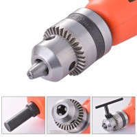 "BI485 Right Angle Drill Bor Attachment Chuck Key Adapter 3/8"" DIY Tool"