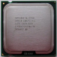 PROCESSOR INTEL CORE2 DUO E7500 (2.93 Ghz) / SOCKET LGA 775