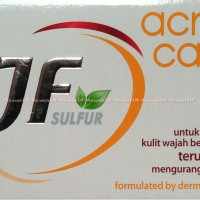 JF Sulfur Acne Care Sabun Untuk Kulit Berjerawat Menghilangkan Jerawat