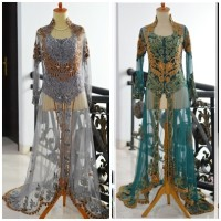 Kebaya Ekor Pengantin Wedding Dress modern muslimah model anne avantie