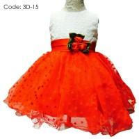 harga Baby Gown Dress Import / Gaun Pesta Anak - White Red Code: 3d-15 Tokopedia.com