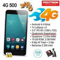Hp Polytron Zap 6/500 4G Garansi Resmi (RAM 2GB+ROM 16GB)