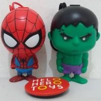 Spiderman & Hulk Figurine Pen Collection - Marvel Studio