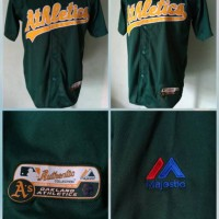 Jual Jersey Baseball Athletic Murah
