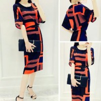 Dress panjang hitam