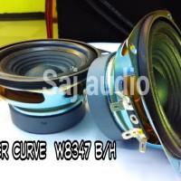 harga Speaker Woofer Curve W8347-b/h 4