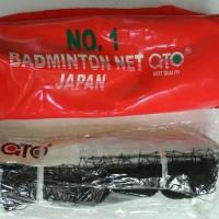 JARING NET BADMINTON - JARING NET BULUTANGKIS - GTO ORIGINAL - TEBAL