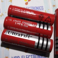 Battery Lithium UltraFire 18650 3000mAh 3.7V Rechargeable*New
