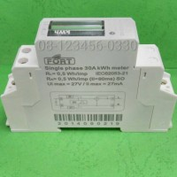kwh meter 1 phase fase fasa analog fort xtm18s model mcb