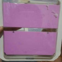 New Nintendo 3ds Cover Plate - Mario Pink