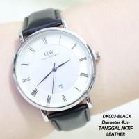 Jam tangan pria daneil wellington DW dapper ring silver Limited