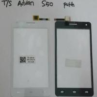 Touchscreen Advan S50 + Ic White