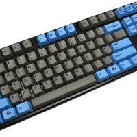 Mechanical Keyboard Ducky One TKL Blue & Grey PBT Dye Brwon Cherry MX