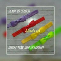 Bandana Bayi/Baby Headband-Single Bow Mini Headband