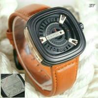 Jam Tangan Pria Sevenfriday Analog Leather Free Baterai & Box 1