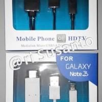 KABEL MICRO USB TO HDTV HDMI MHL 1080P FOR SAMSUNG GALA Murah