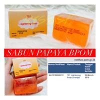 Sabun Walet BPOM / Papaya Lightening Transparant Soap Original