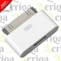 Converter Adapter MicroUSB To Apple 30 Pin - IPhone 4, IPad, Etc