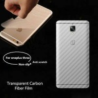 Screen Protector 3D Clear Carbon Fiber IPHONE 4/4G/4S/Back Skin